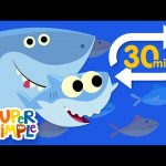 Baby Shark (Extended Mix – 30 Mins!) | Kids Songs | Super Simple Songs