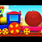 Fruits Train | Learning Videos | Bob The Train Cartoons – Kids TV