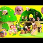 LOL Surprise Lil Sisters Hide in Discovery Tree House Toy Video