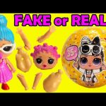 FAKE or REAL LOL Surprise Confetti Pop Series 3 Wave 2 Toy Video