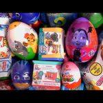 Kinder egg Toy Story 4 Toys Vamparina Puppy Dog Pals PJ Masks toy surprise