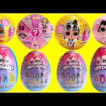 LOL Surprise Confetti Pop Series 3 Wave 2 Lil Sisters and Hatchimals