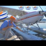 Blippi Flies a Seaplane | Airplanes for Kids and Fun Songs for Toddlers