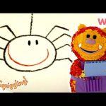 Get Squiggling – How to Draw a Spider | How to Draw | Wizz | Cartoons for Kids