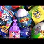 surprise Slime Vampirina Sponge Bob PJ Masks Dragon egg