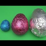 The Baby Big Mouth Show! Best of Learn with Colourful Shiny Mystery Surprise Eggs!