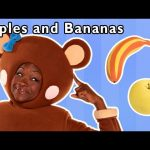 Apples and Bananas and More | FUN PHONICS RHYMES | Baby Songs from Mother Goose Club!