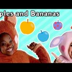 Apples and Bananas and More | SILLY COLORS FRUITS SONGS | Baby Songs from Mother Goose Club!