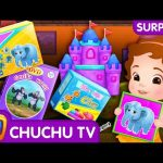 ChuChu TV Surprise Eggs Toys – Going To The Forest Song – Learn Colours and Wild Animals