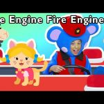 Fire Engine, Fire Engine and More | FIRE TRUCK RESCUE PATROL | Baby Songs from Mother Goose Club!