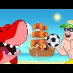 Morphle Beach adventures – Summer Cartoons for Kids with Shark and Construction vehicles