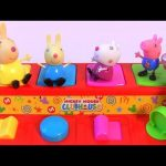 Nickelodeon Peppa Pig Pop Up Toys Surprise House Stacking Cups