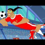 Supa Strikas Full Episode Compilation | The Determinator | Soccer Cartoons for Kids