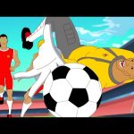 Supa Strikas | Living the El Life | Soccer Cartoons for Kids | Sports Cartoon