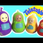 Teletubbies Stacking Cups lol Surprise Play-Doh Slime pop-up toys Huevos Sorpresa
