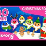 Baby Shark vs Gingerbread Man and more   Christmas   +compilation   Pinkfong Songs for Children