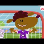 Go Go Footy Pups – Playing With the Passion | Football for Kids | Wizz | Cartoons for Kids