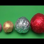 Learn Sizes with Surprise Eggs! Opening HUGE Colourful Chocolate Mystery Surprise Eggs! 39