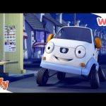 Olly the Little White Van – Olly & His Best friend Stan | Wizz | Cartoons for Kids