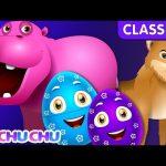 ChuChu TV Classics – Learn Wild Animals & Animal Sounds   Surprise Eggs Wildlife Toys