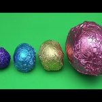 The Baby Big Mouth Show! Best of Big Bigger Biggest with Colourful Mystery Surprise Eggs!