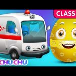ChuChu TV Classics – Utility Vehicles for Kids – Part 1 | Surprise Eggs Nursery Rhymes