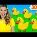 Five Little Ducks & More!   Kids Songs and Nursery Rhymes – Learn counting, learn the alphabet